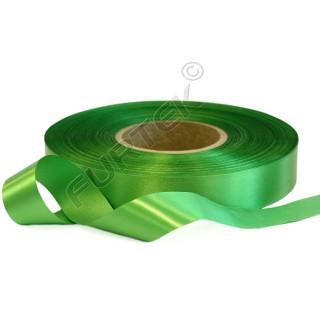 Лента сатиновая зеленая 100 м, 200 м, 400 м