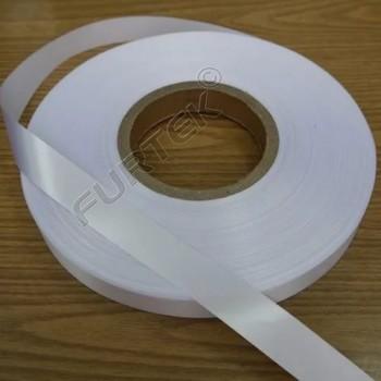 Лента сатиновая белая 100 м, 200 м. стандарт