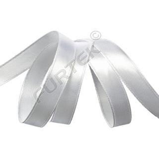 Лента сатиновая класса элегант белая 100 м, 200 м
