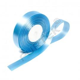 Лента сатиновая голубая 100 м, 200 м, 400 м