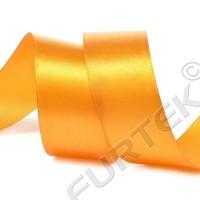 Лента сатиновая светло-оранжевая 100 м, 200 м, 400 м