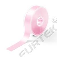 Лента сатиновая светло-розовая 100 м, 200 м, 400 м