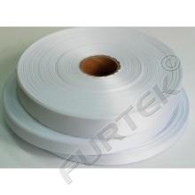 Ленты нейлоновые белые без печати в рулоне, премиум, длина 100 м, 200м и 400м