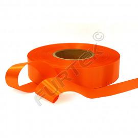Лента сатиновая 100 м, 200 м, 400 м, апельсиновая