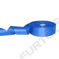 Лента сатиновая ярко-синяя 100 м, 200 м, 400 м