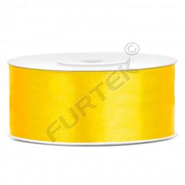 Лента сатиновая желтая 100 м, 200 м, 400 м
