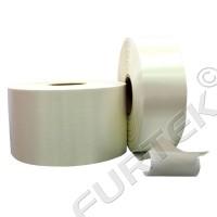 Белая клеевая сатиновая лента марки SA900 на толстой подложке 100 м, 200 м