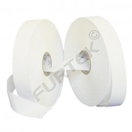 Лента нейлоновая белая для печати 30 мм, 40 мм 100 м