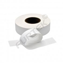 Нейлоновая лента для ТТ-печати плотная белая