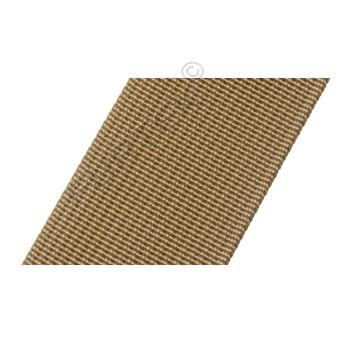 Нейлоновая ременная лента без печати марки NW-38-17337, 38 мм, бежевая, 50 м, 100 м