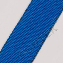 Синяя прорезиненная нейлоновая лента без печати 45 мм модели NW-4088-T13R 50 м, 100 м