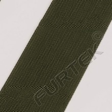 Нейлоновая лента без печати цвета хаки 75 мм модели NW-75-17337 50 м, 100 м