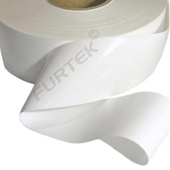 Лента нейлоновая белая для печати термоклеевая 100 м, 250 м