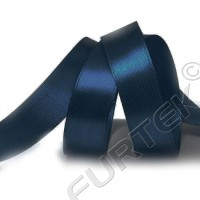 Атласная лента 50 мм премиум класса темно-синяя 100 м