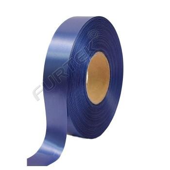 Лента из сатина класса премиум темно-синяя 100 м, 200 м