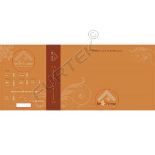 Вшивная этикетка для комплектов постельного белья 100х45 мм
