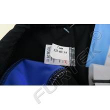 Размерник на основе белой нейлоновой ленты 10х20 мм для детской пляжной одежды