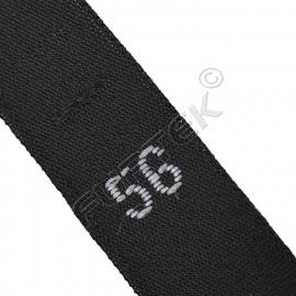 Жаккардовый размерник со сгибом для джинсов 40х10 мм