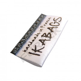 Сатиновый вшитый ярлык 4х3 см