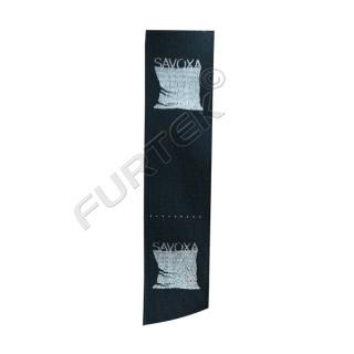 Сатиновые вшивные ярлыки с печатью в рулоне