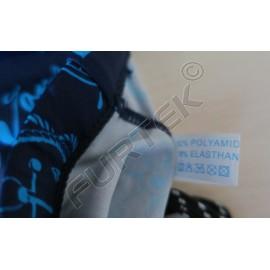 Составник на основе сатиновой ленты 10х12 мм для пляжной одежды