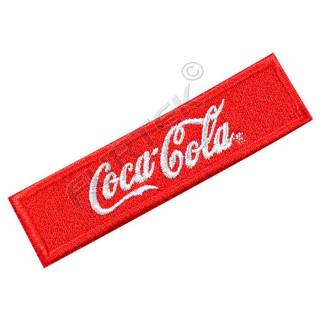 Жаккардовый ярлык пришивной с вышивкой логотипа