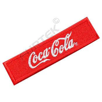 Жаккардовый пришивной ярлык с вышивкой логотипа