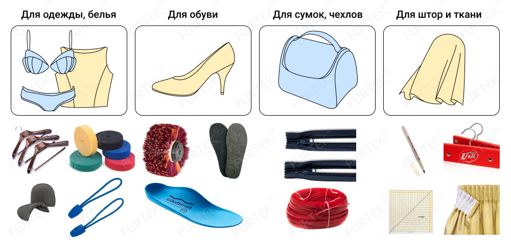 Аксессуары для швейной продукции