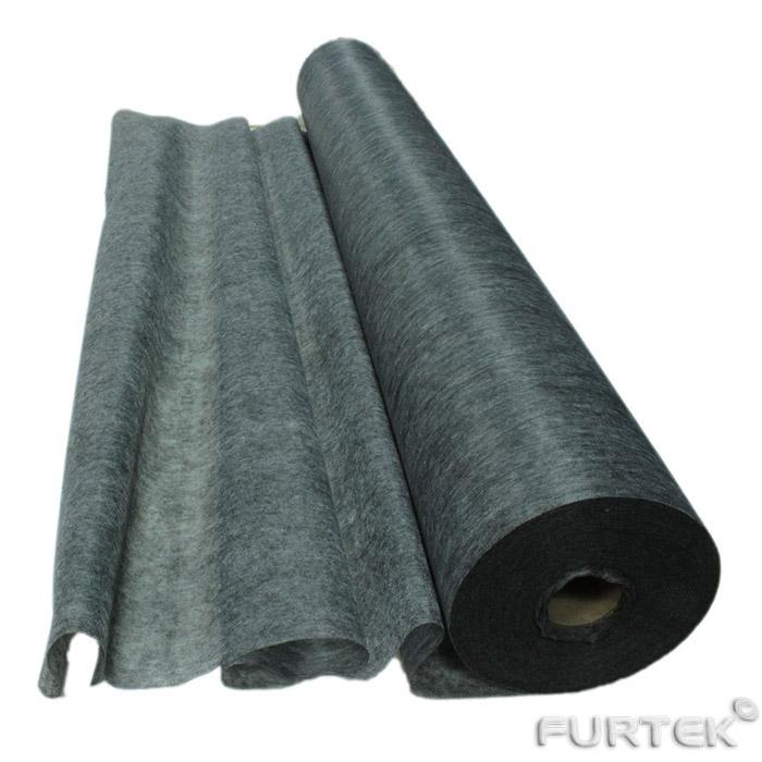Флизелин черного цвета