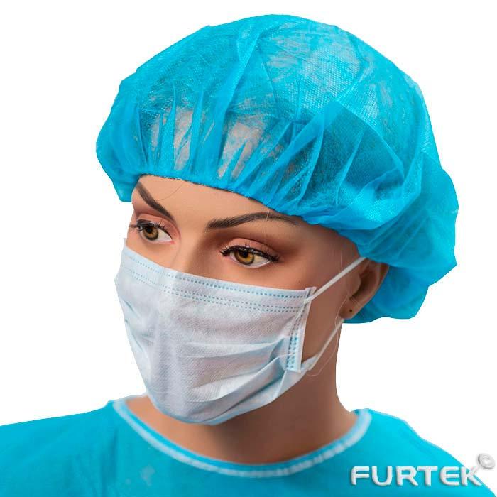 Медицинская маска на тонкой резинке