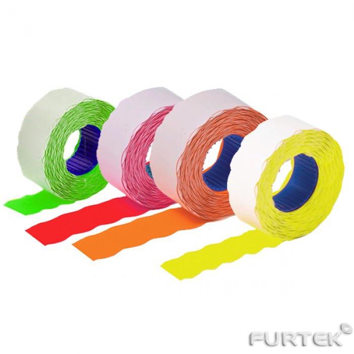 Ленты для этикет-пистолета разных цветов