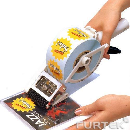 Нанесение этикеток маркиратором на компакт-диск