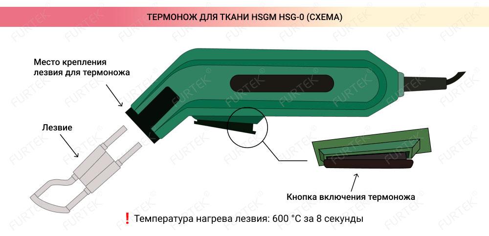 Схема для термоножа HSGM HSG-0