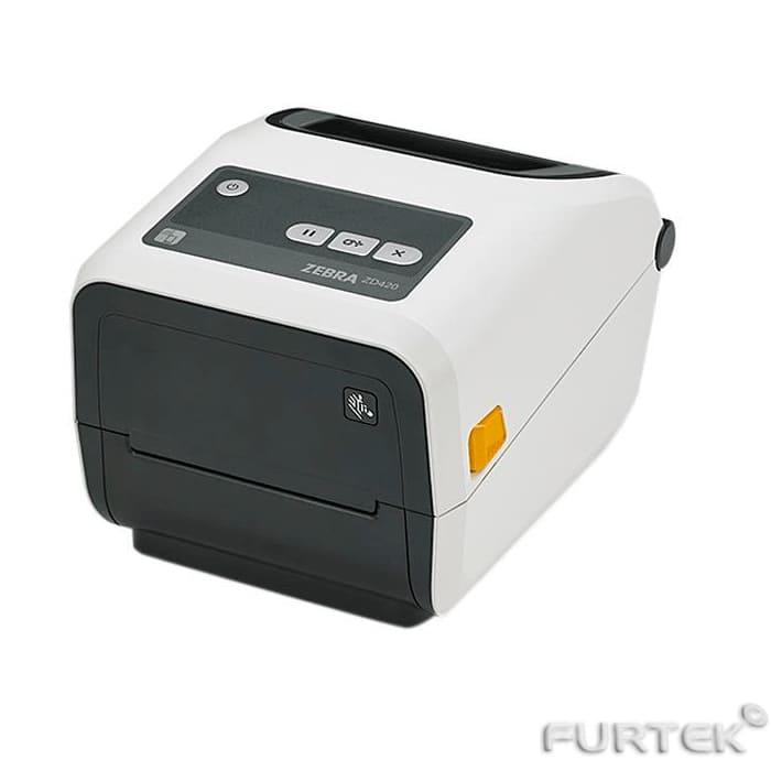 Принтер zebra zd420 белого цвета