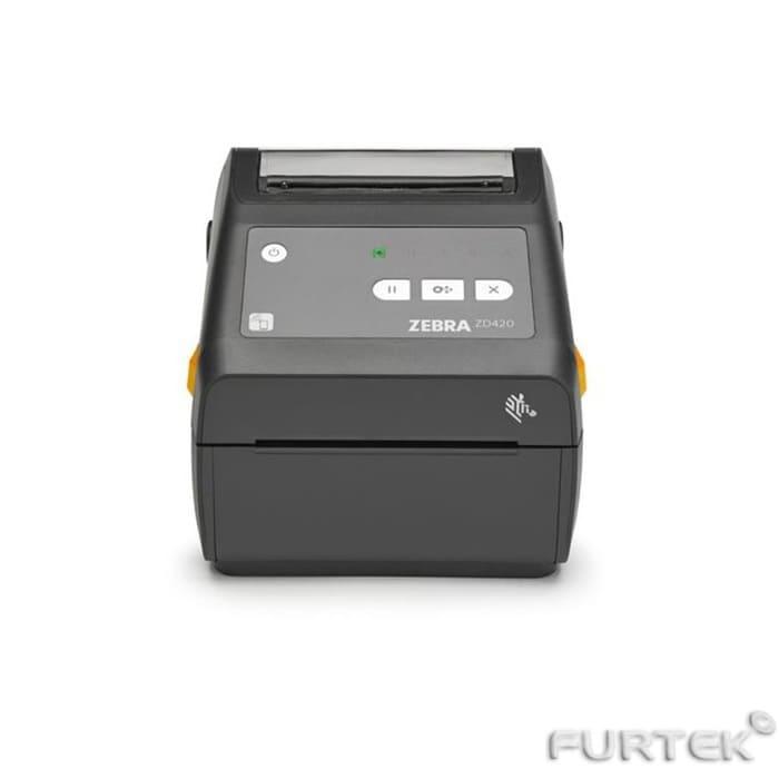 Принтер zebra zd420 темно серого цвета