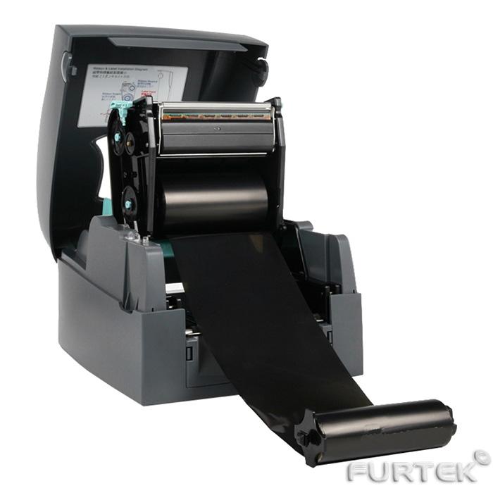 Риббон установка в принтер