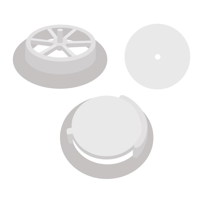 Клапан респиратора 01 (сборный)
