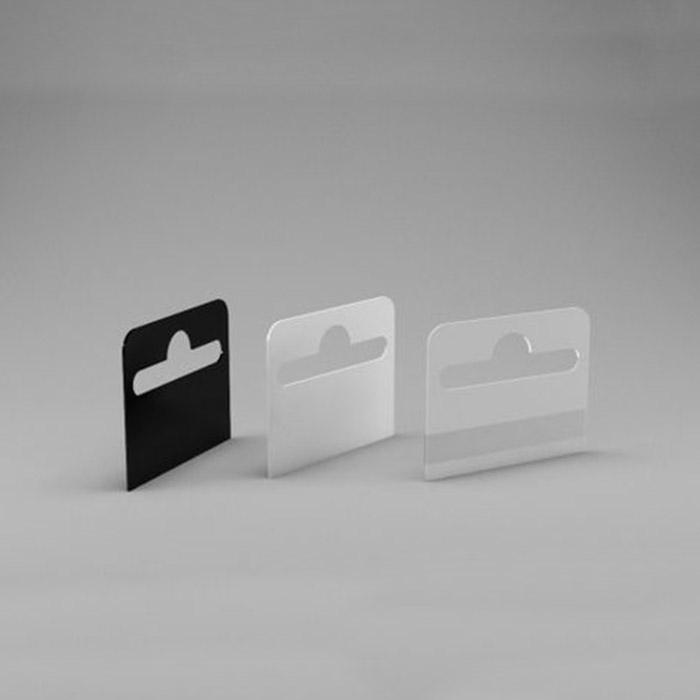 Еврослоты самоклеющиеся прозрачный, белый и черный
