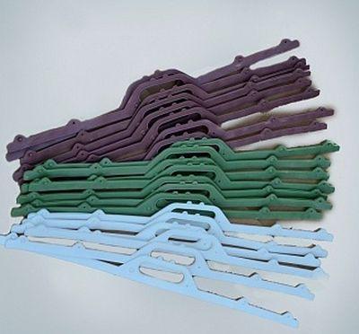 пластиковые ручки для пакетов разных цветов