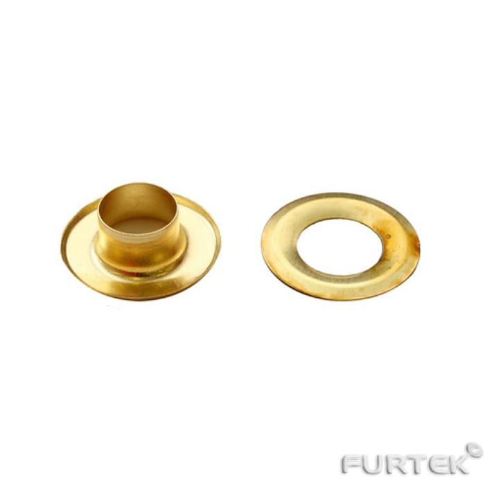 Люверс №17 3 мм цвет золото