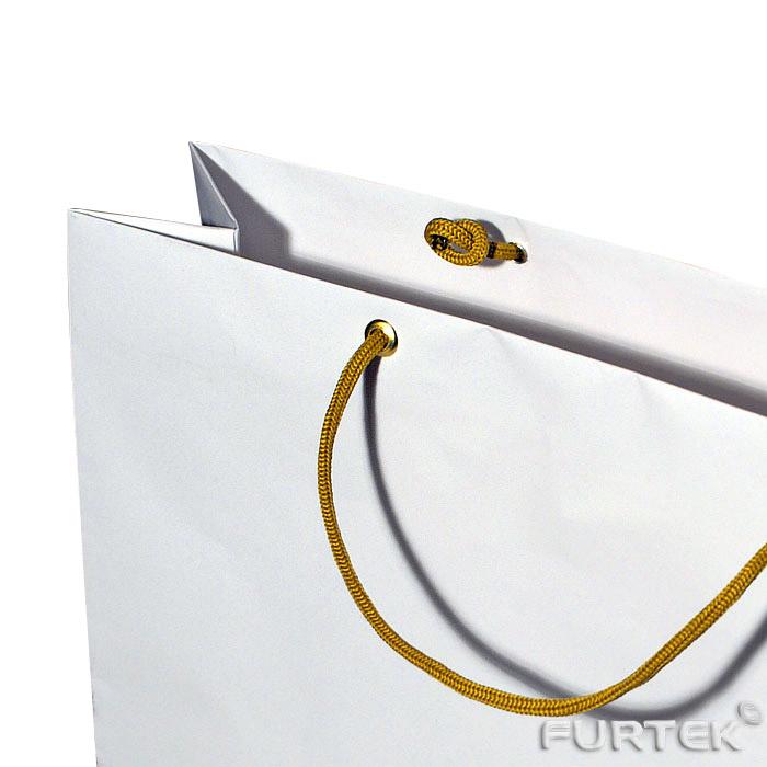 Пакет картонный усиленный люверсами