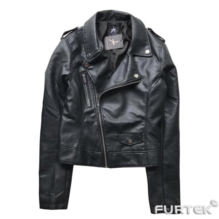 Кожанная куртка с бирками