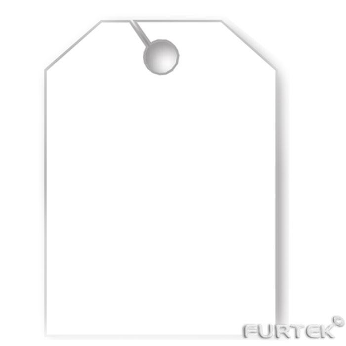 Белая бирка