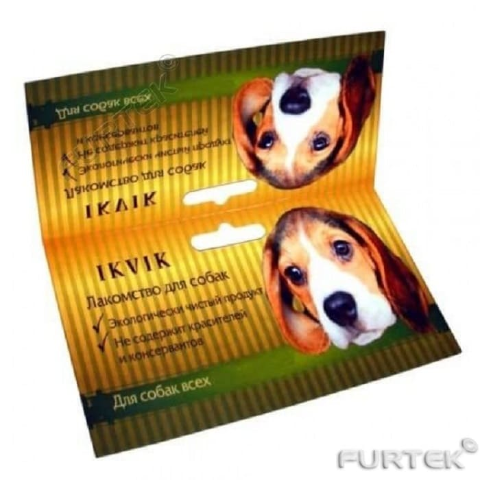 Картонные бирки-хеддеры для собак
