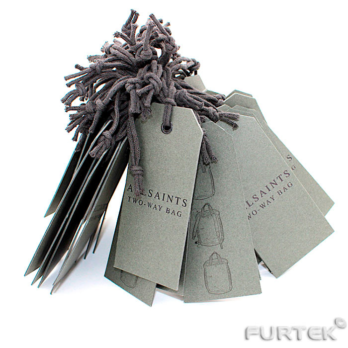 Бирки серые специализированные для сумок