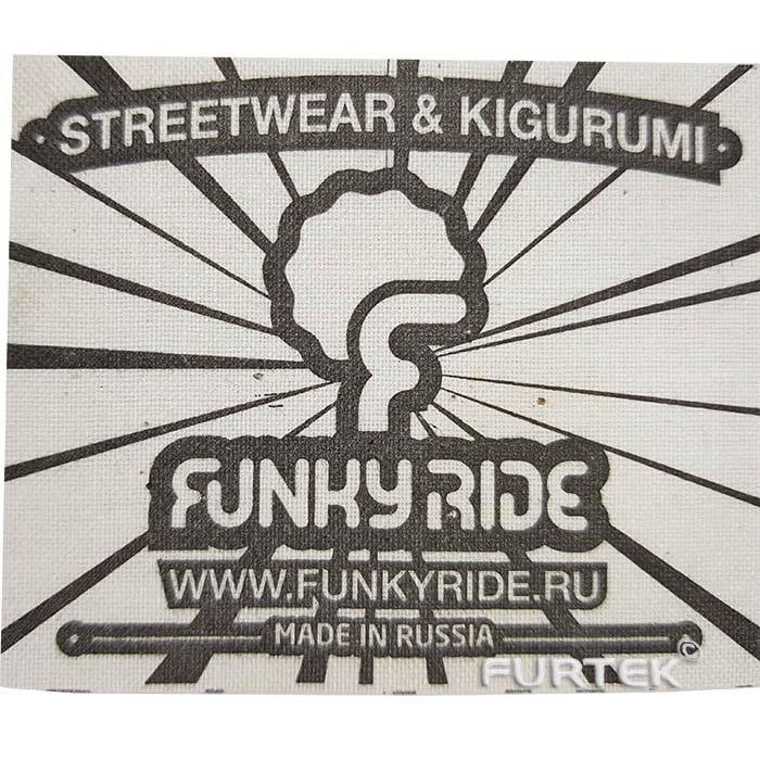 Хлопковая этикетка Funkyride фото