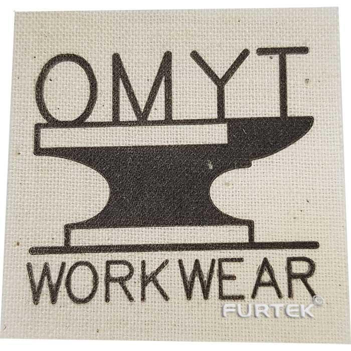 Хлопковая этикетка OMYT фото
