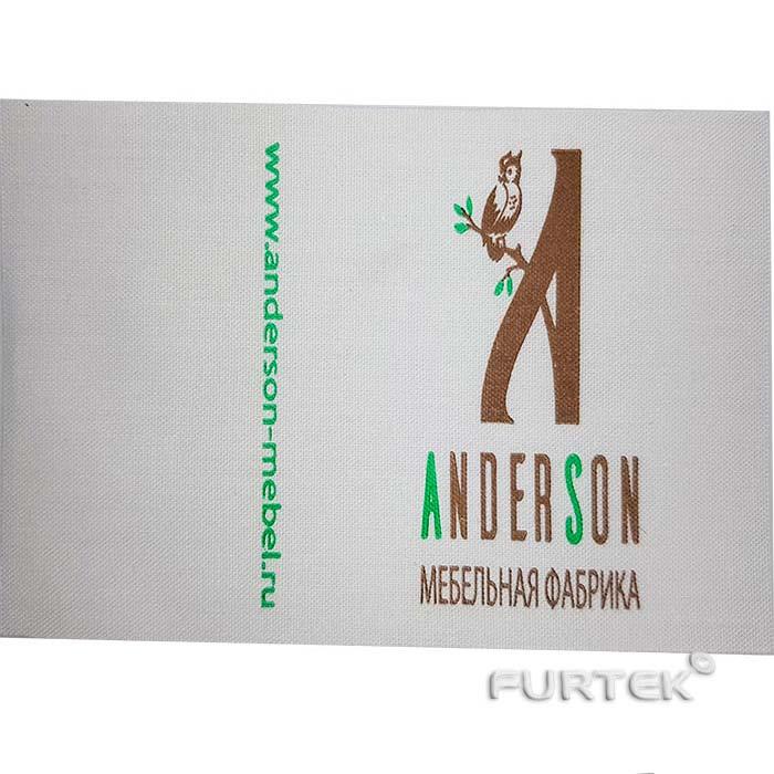 Хлопковая этикетка Anderson фото