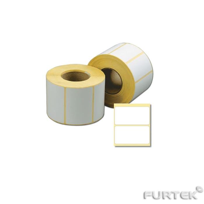 Термотрансферные этикетки без печати в рулонах