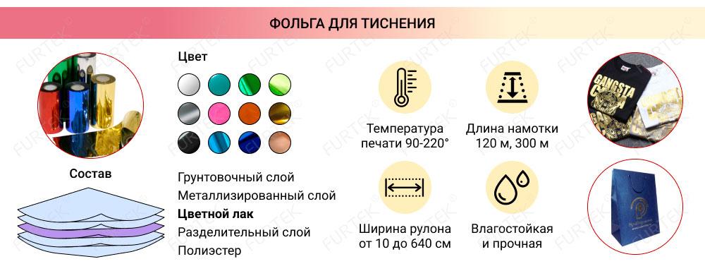 Информация о фольге для горячего тиснения